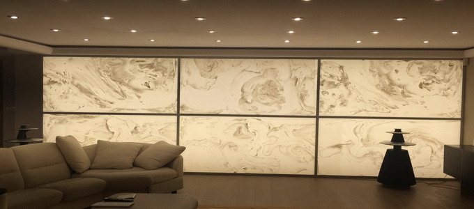 Translucent Creations | Amberlite | Faux Onyx Panels | Faux Backlit Onyx