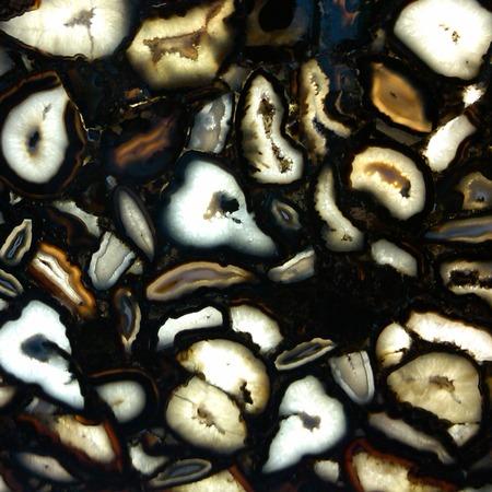 Crystal Agate Black